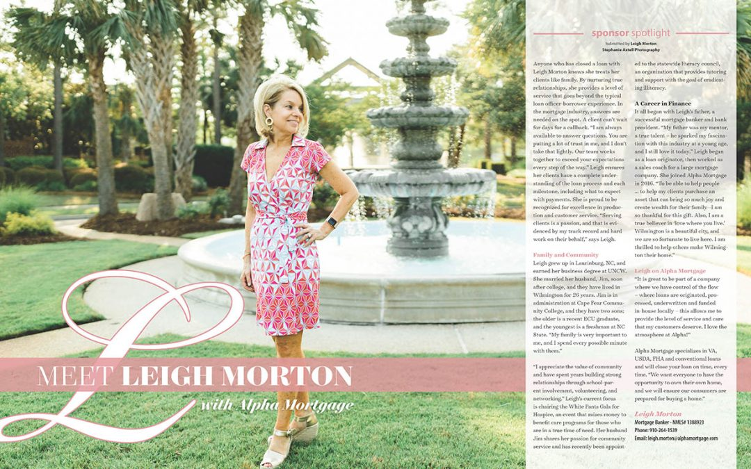 Leigh Morton Alpha Mortgage Spotlight