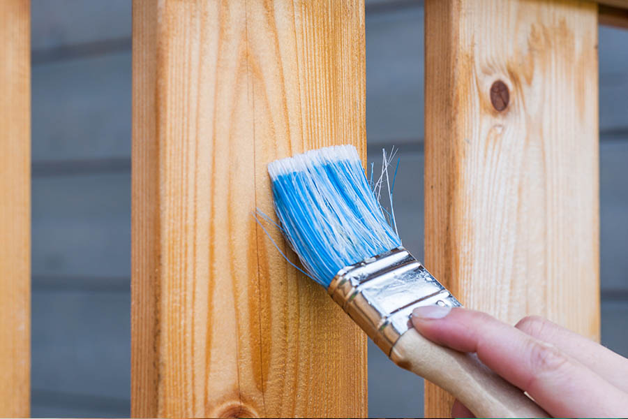 Paint brush for home improvements